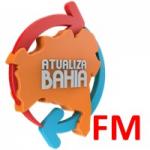 Logo da emissora Rádio Atualiza FM