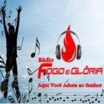 Logo da emissora Rádio Fogo e Glória