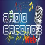Logo da emissora RCW - Rádio Caconde Web