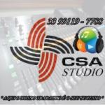 Logo da emissora C.S.A Stúdio Web Rádio