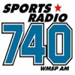 Logo da emissora WMSP 740 AM Sports Radio