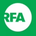 Logo da emissora Radio RFA SW