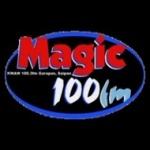 Logo da emissora Magic 100.3 FM