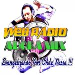 Logo da emissora Rádio Adora Mix