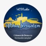 Logo da emissora Rádio Ritmos Jerusalém FM