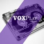 Logo da emissora Rádio Vox Play