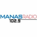 Logo da emissora Manas Radio 102.9 FM
