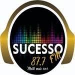 Logo da emissora Rádio Sucesso 87.7 FM