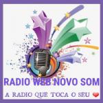 Logo da emissora Rádio Web Novo Som
