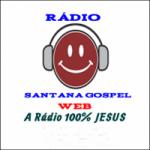 Logo da emissora Rádio Santana Gospel