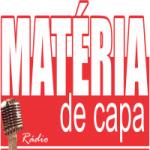 Logo da emissora Rádio Matéria de Capa