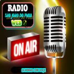 Logo da emissora Rádio São João do Piaui Web