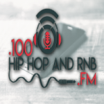 Logo da emissora 100 Hip Hop and RNB.FM