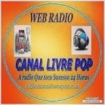 Logo da emissora Rádio Canal Livre Pop