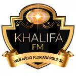 Logo da emissora Rádio Khalifa FM