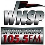 Logo da emissora WNSP 105.5 FM