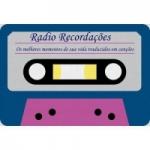 Logo da emissora Rádio Recordações