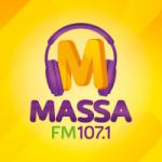 Logo da emissora Rádio Massa 107.1 FM