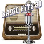 Logo da emissora Rádio Hits 80 90