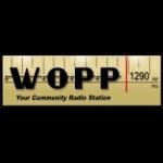 Logo da emissora WOPP 1290 AM