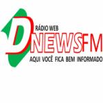 Logo da emissora Web Rádio D News FM