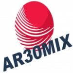 Logo da emissora Rádio AR30MIX FM Curitiba
