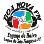 Logo da emissora Rádio Boa Nova 90.5 FM