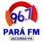 Logo da emissora Rádio Pará 96.7 FM