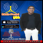 Logo da emissora Rádio Peniel FM