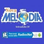 Logo da emissora Nova Melodia
