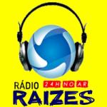 Logo da emissora Rádio Raízes Cidade FM