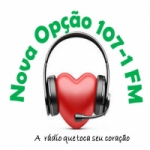 Logo da emissora Rádio Nova Opção FM