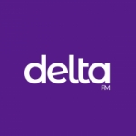 Logo da emissora Rádio Delta FM