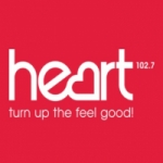 Logo da emissora Radio Heart Hereward 102.7 FM