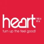 Logo da emissora Radio Heart 102.6 97.4 FM