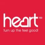 Logo da emissora Radio Heart 103 FM