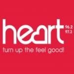 Logo da emissora Radio Heart 96.2 97.3 FM