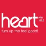 Logo da emissora Radio Heart 97 103 FM