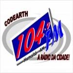 Logo da emissora Rádio Codearth Humaitá 104.9 FM