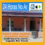 Logo da emissora Rádio Web Gospel Ricardo Bessa