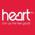 Logo da emissora Radio Heart 97.6 FM