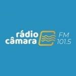 Logo da emissora Rádio Câmara 101.5 FM