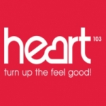 Logo da emissora Radio Heart Cambridge 103 FM