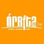 Logo da emissora Radio Órbita 106.7 FM