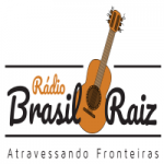 Logo da emissora Rádio Brasil Raiz