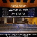 Logo da emissora Rádio Vivendo O Pleno Em Cristo