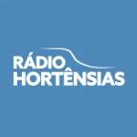 Logo da emissora Rádio Hortênsias
