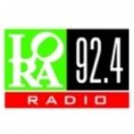 Logo da emissora LORA München 92.4 FM