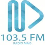 Logo da emissora Rádio Mais 103.5 FM