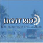 Logo da emissora Rádio Light Rio